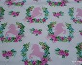 Flannel Fabric - Unicorn Spray - By the yard - 100% Cotton Flannel