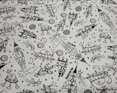 Flannel Fabric - Nash All Over - By the yard - 100% Cotton Flannel
