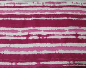 Flannel Fabric - Very Berry Stripe TieDye - By the Yard - 100% Cotton Flannel