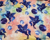 Flannel Fabric - Pegasus Tie Dye - By the yard - 100% Cotton Flannel