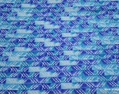 Flannel Fabric - Gordon Watercolor Geo - By the yard - 100% Cotton Flannel