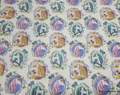 Flannel Fabric - Self Portrait Unicorn - By the yard - 100% Cotton Flannel