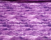 Flannel Fabric - Lilac Marble Luxe - By the yard - 70% Rayon, 30 Cotton
