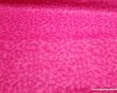 Flannel Fabric - Fuchsia Tie Dye - By the yard - 100% Cotton Flannel