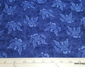 Flannel Fabric - USA Eagle on Navy - By the Yard - 100% Cotton Flannel