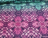 Flannel Fabric - Psychedelic Kaleidoscope - By the Yard - 100% Cotton Flannel