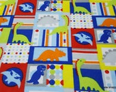 Flannel Fabric - Rex Patch - By the Yard - 100% Cotton Flannel