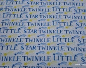Flannel Fabric - Stars Twinkle - By the yard - 100% Cotton Flannel