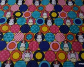 Flannel Fabric - Minions Fluffy Circles Unicorn - By the yard - 100% Cotton Flannel