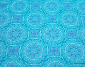 Flannel Fabric - Bloom Medallion - By the Yard - 100% Cotton Flannel