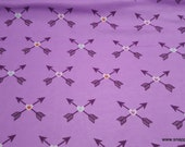 Flannel Fabric - Bright Tribal Arrows - By the yard - 100% Cotton Flannel