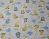 Flannel Fabric - Jungle Adventure - 1 yard - 100% Cotton Flannel