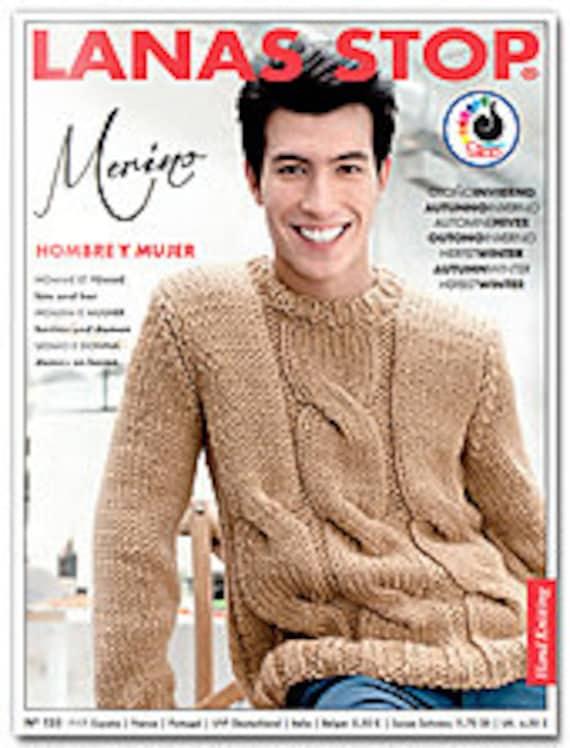 Knitting Patterns Lanas Stop Publication No 123 Pattern Etsy