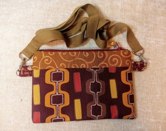 Shoshona -The cutest and most colorful cross body shoulder strap purse- FREE SHIPPING!