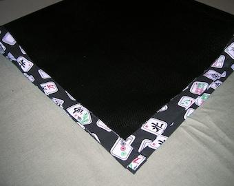 """Mah Jongg table mat- 33"""" x 33"""""""