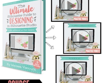 The ultimate silhouette guide tutorials tips etsy the ultimate silhouette guide tutorials tips troubleshooting ebook second edition for current v4 software fandeluxe Images