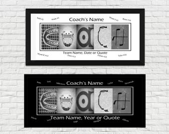 Gift for Hockey Coach - Sign for Hockey Coach - Coach Gift from Hockey Team - Hockey Mom - Hockey Team - Coach Gift Ideas - Coach Sign -