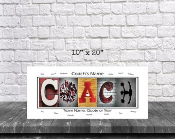 Cheerleading Coach Gifts, Cheerleading Coach Team Gift, Cheerleading Gifts, Coach Print Gift, Gift for Coach, Coach Cheer Print,Best Coach,