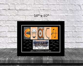 Team Picture Hockey Coach Gift, Team Coach Gift, Hockey Photo Team Gift, Team Photo Gift, End of Season Gifts, Hockey Personalized Gift,