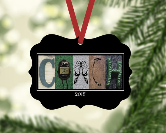 image 0 - Cross Country Name Ornament Cross Country Christmas Ornament Etsy