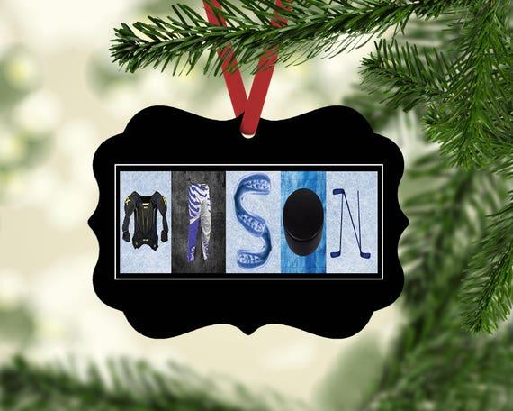 image 0 - Hockey Christmas Ornaments