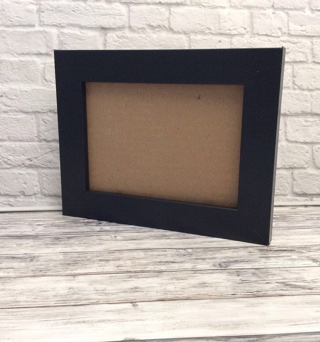 White Frame Black Frame Glass and Back of Frame included | Etsy