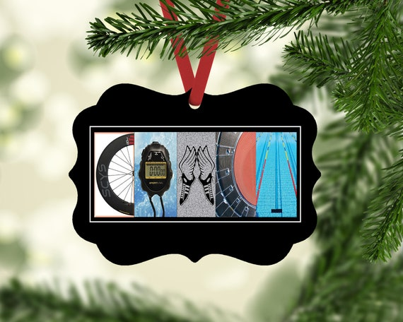 image 0 - Triathlon Coach Ornament Christmas Ornament Coach Ornament Etsy