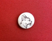 Kitten Profile Button by Kitten and the Crow