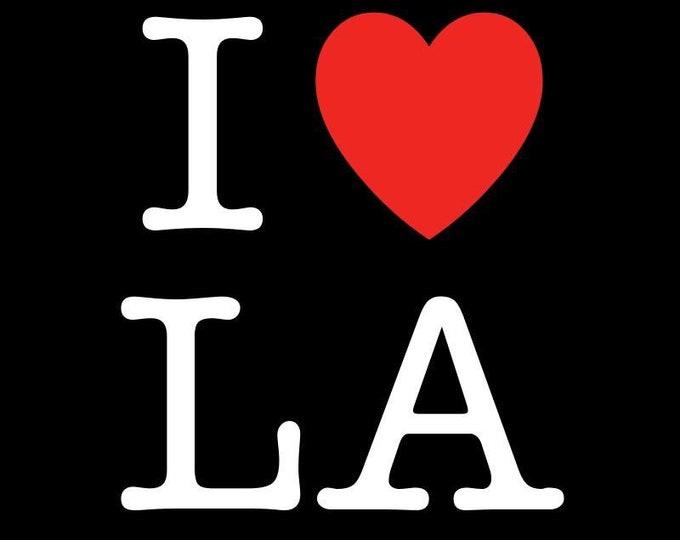 Custom iPhone XS max case - I love LA