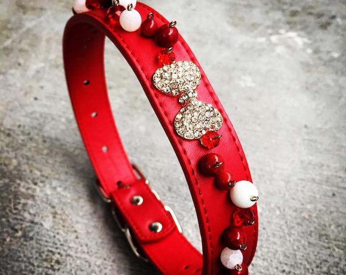 Handmade Beaded Dog Collar