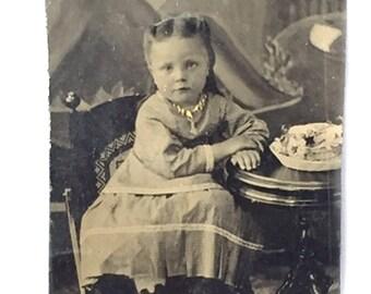 Victorian Girl Tintype