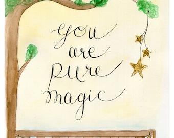 pure magic- 8x10 Digital Print