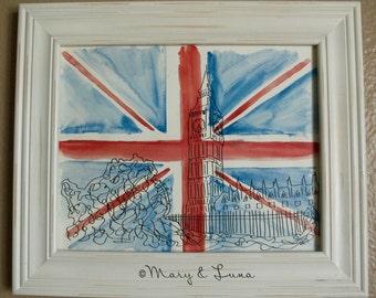London- 8x10 Digital Print