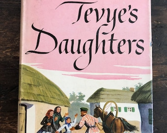 Tevye's Daughters by Sholom Aleichem / 1949 Second Printing / Hardcover / Crown Publishers / Jewish Folklore