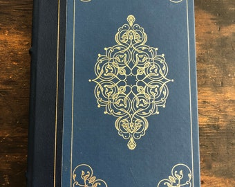 Madame Bovary by Gustav Flaubert / 1979 Franklin Library Edition / Blue with Gold accents / Hardcover