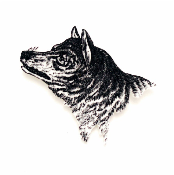 GERMAN SHEPHERD HEAD Made in U.K Artistic Style Dog Clutch Lapel Pin Collection