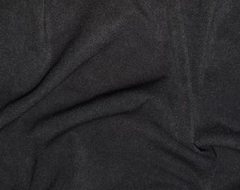 tissu faux daim noir /épaisseur moyenne disponible d/ès 20cm** Tissu su/édine noir effet cuir stretch