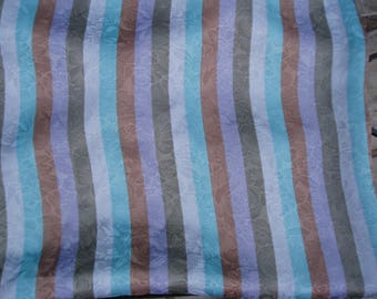 striped polyester fabric