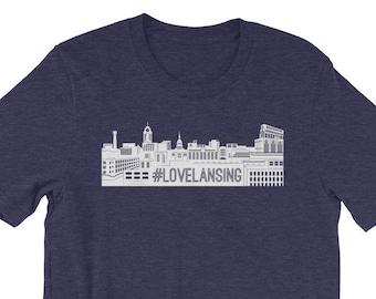 Hashtag lovelansing T-Shirt