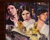 Star Wars ART PRINT...