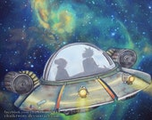 Rick and Morty Space Ship...