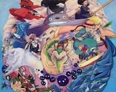 Studio Ghibli ART PRINT...