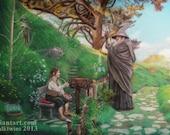 The Hobbit Gandalf and Bi...