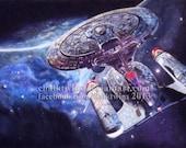 Enterprise 1701 D Star Tr...