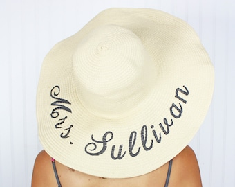 Personalized Floppy Hat  bb9ad8497d5