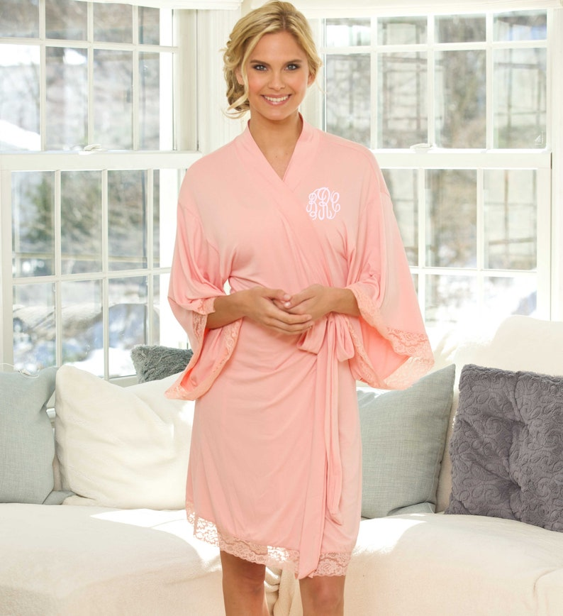 Bridesmaid Robes Personalized Robes For Bridal Party Bridesmaid Gift