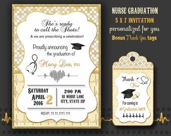 nurse graduation invitation nurse graduate nurse graduation party nurse retirement graduation party cap and pinning ceremony digital
