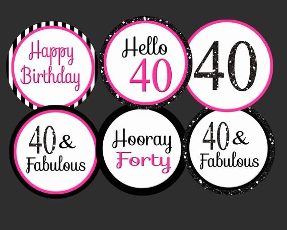 12ct 93rd Birthday Anniversary Gold Ribbon Cupcake Food Decoration Picks