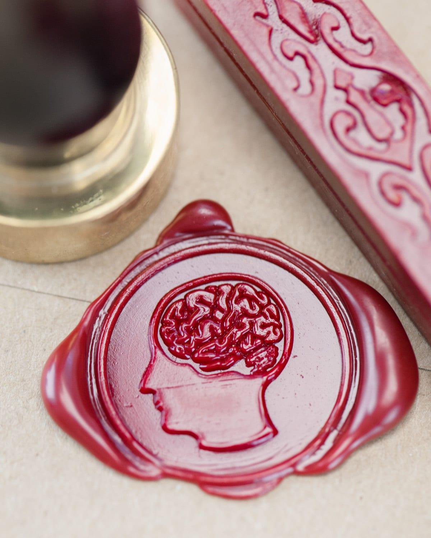 Kit de joint de cire de cerveau fr Kit de cire Etsy