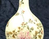 Antique Collectible Japanese Imari Bud Vase, Floral Display, Iron Red Color, Specimen Vase, Bud Vase, Home Decor, Display Vase, Bulbous Vase